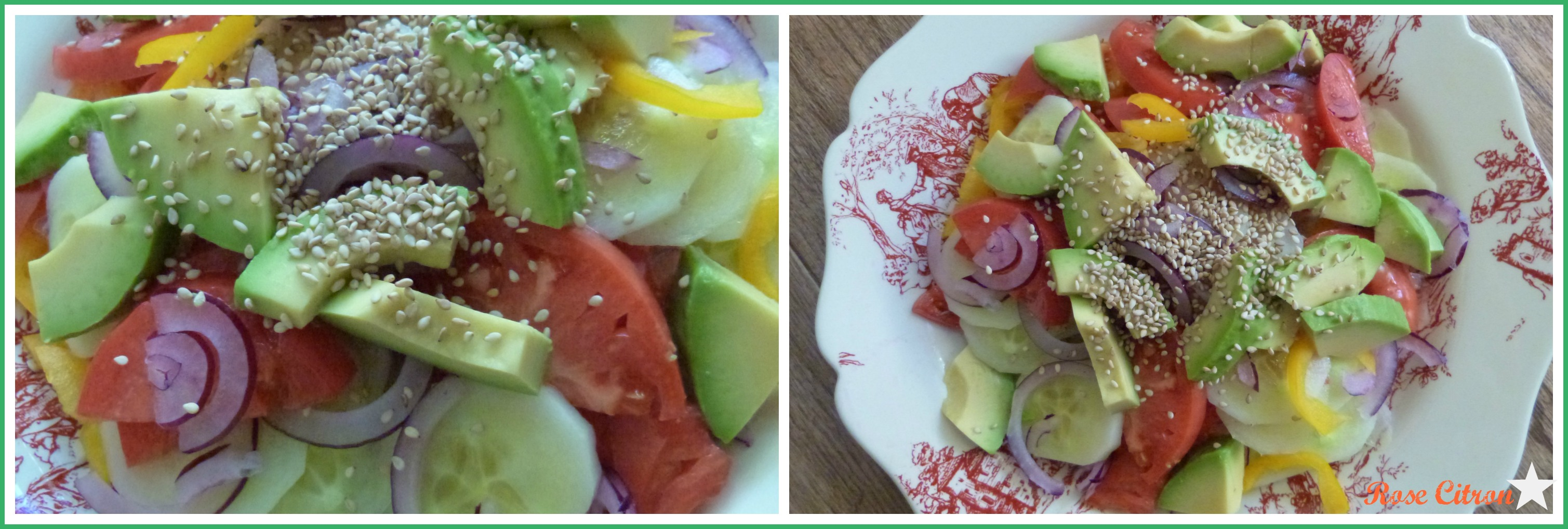Collage salade