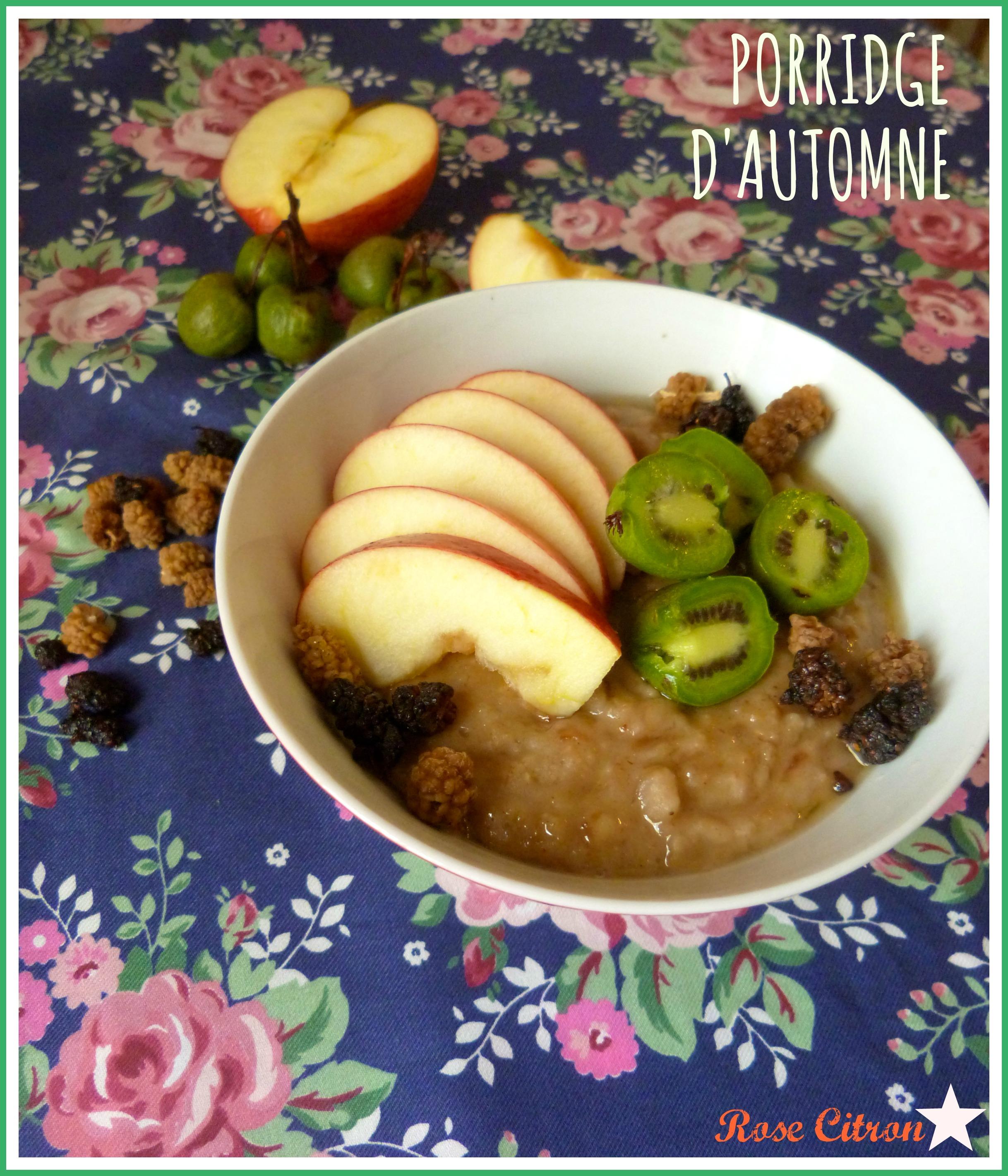 porridge automne