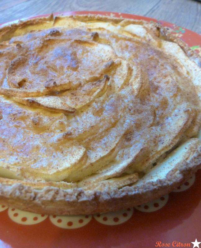 recette tarte aux pommes vegan
