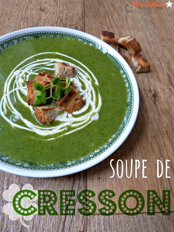 soupe cresson pomme de terre
