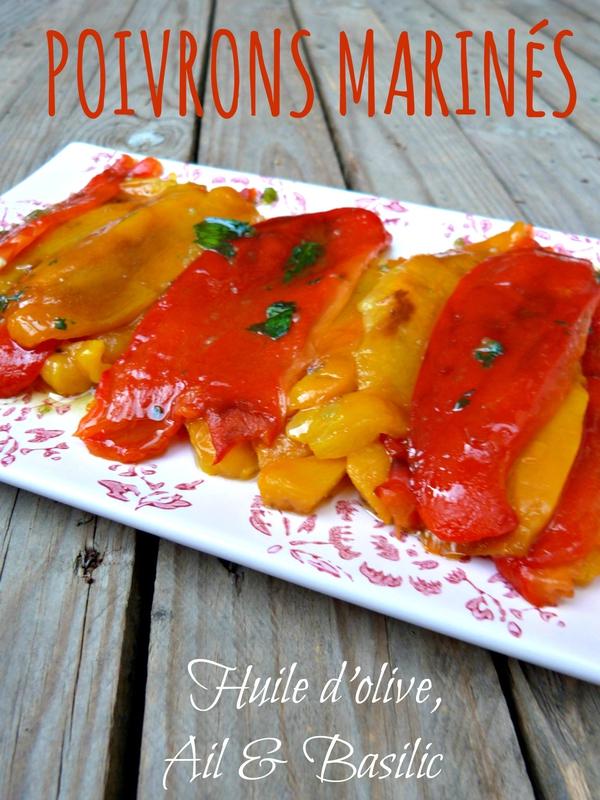 recette poivrons marinés