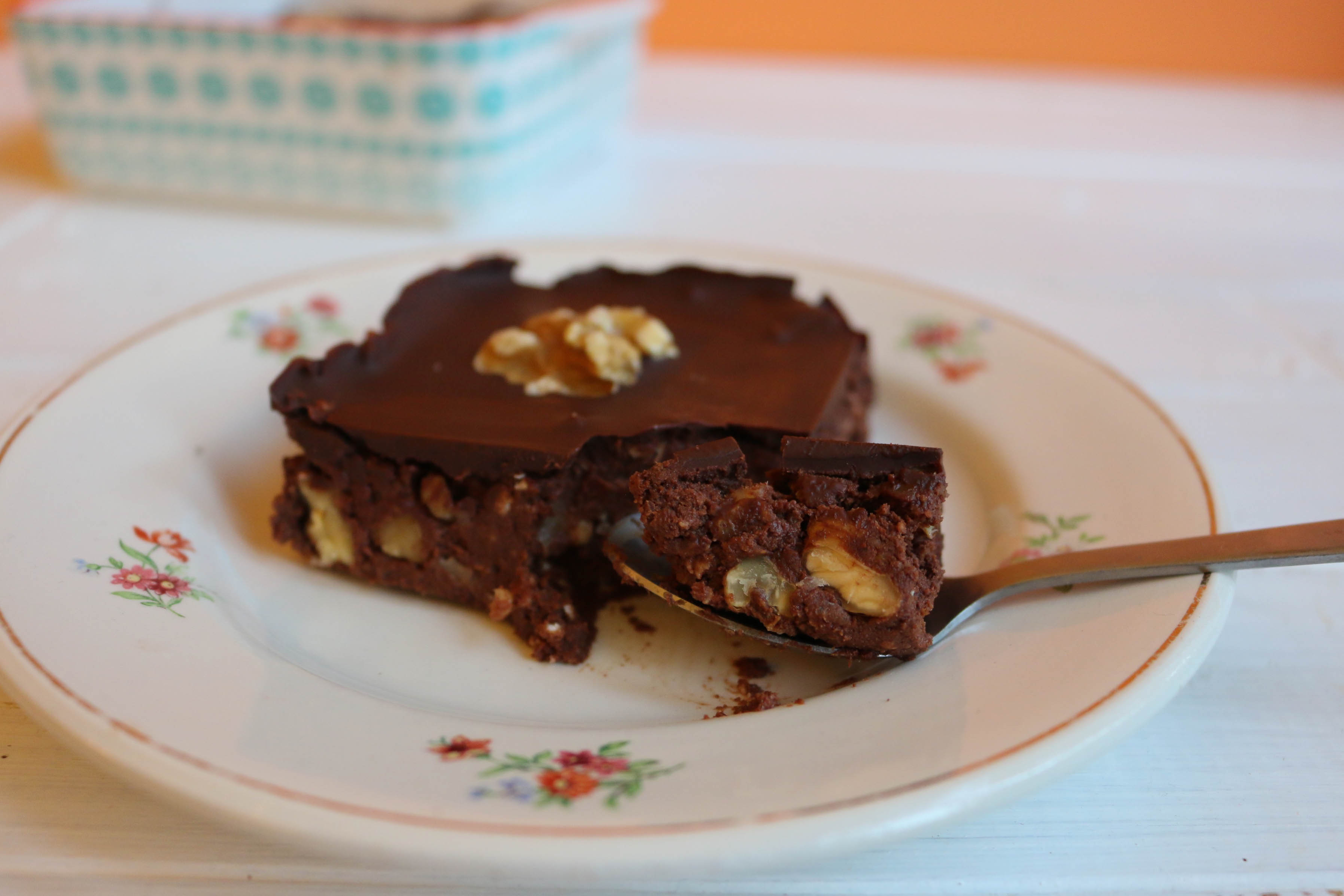 recette brownie cru
