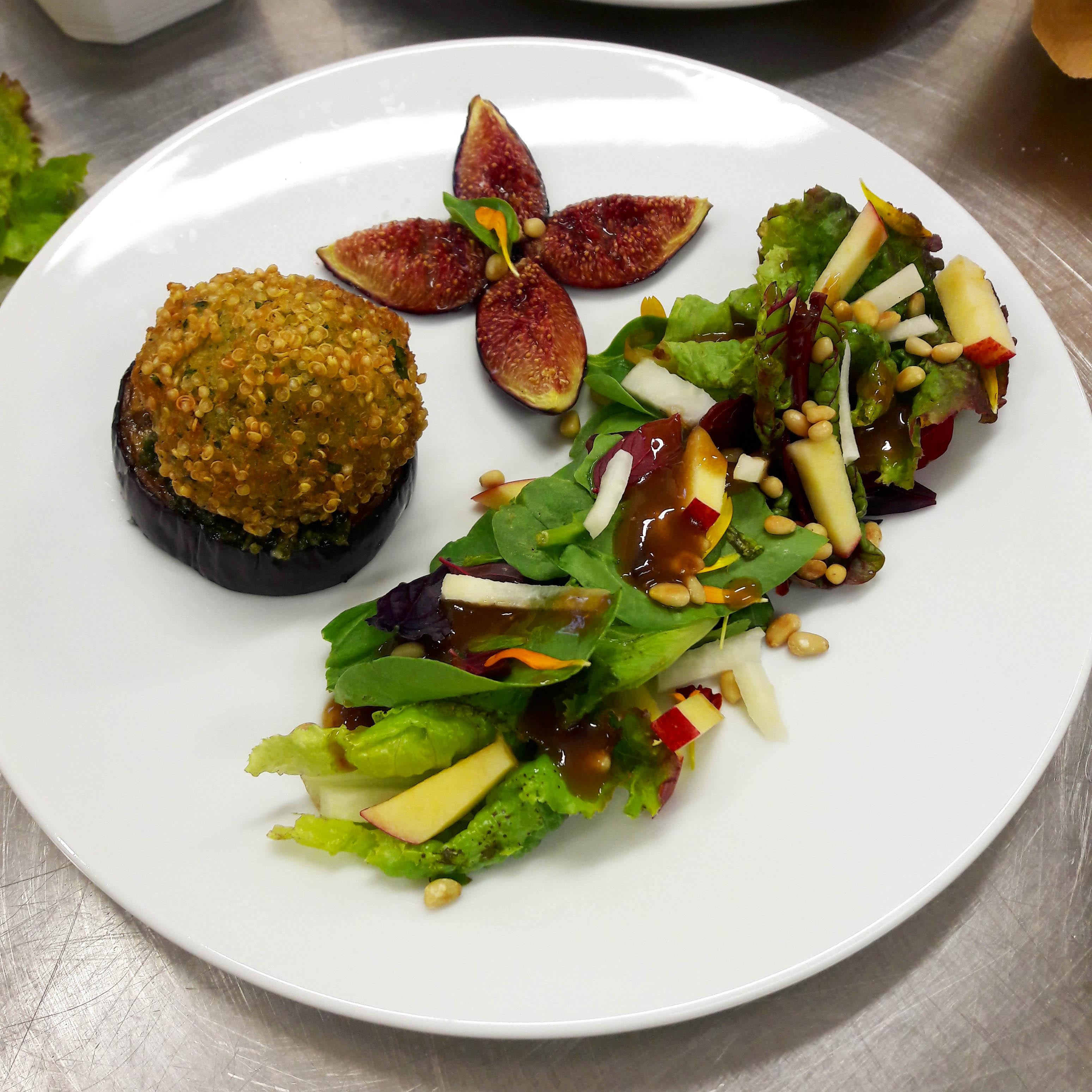 cromesquis de quinoa. recette végétale et sans gluten