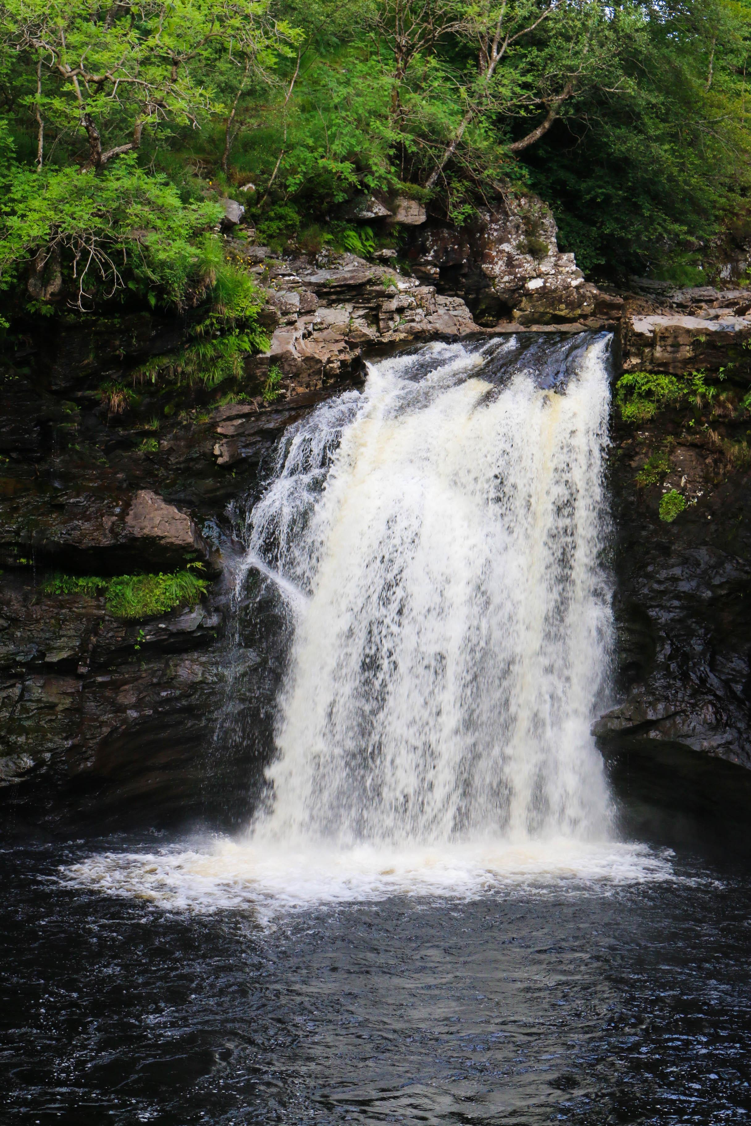 falls of falloch - road trip en ecosse