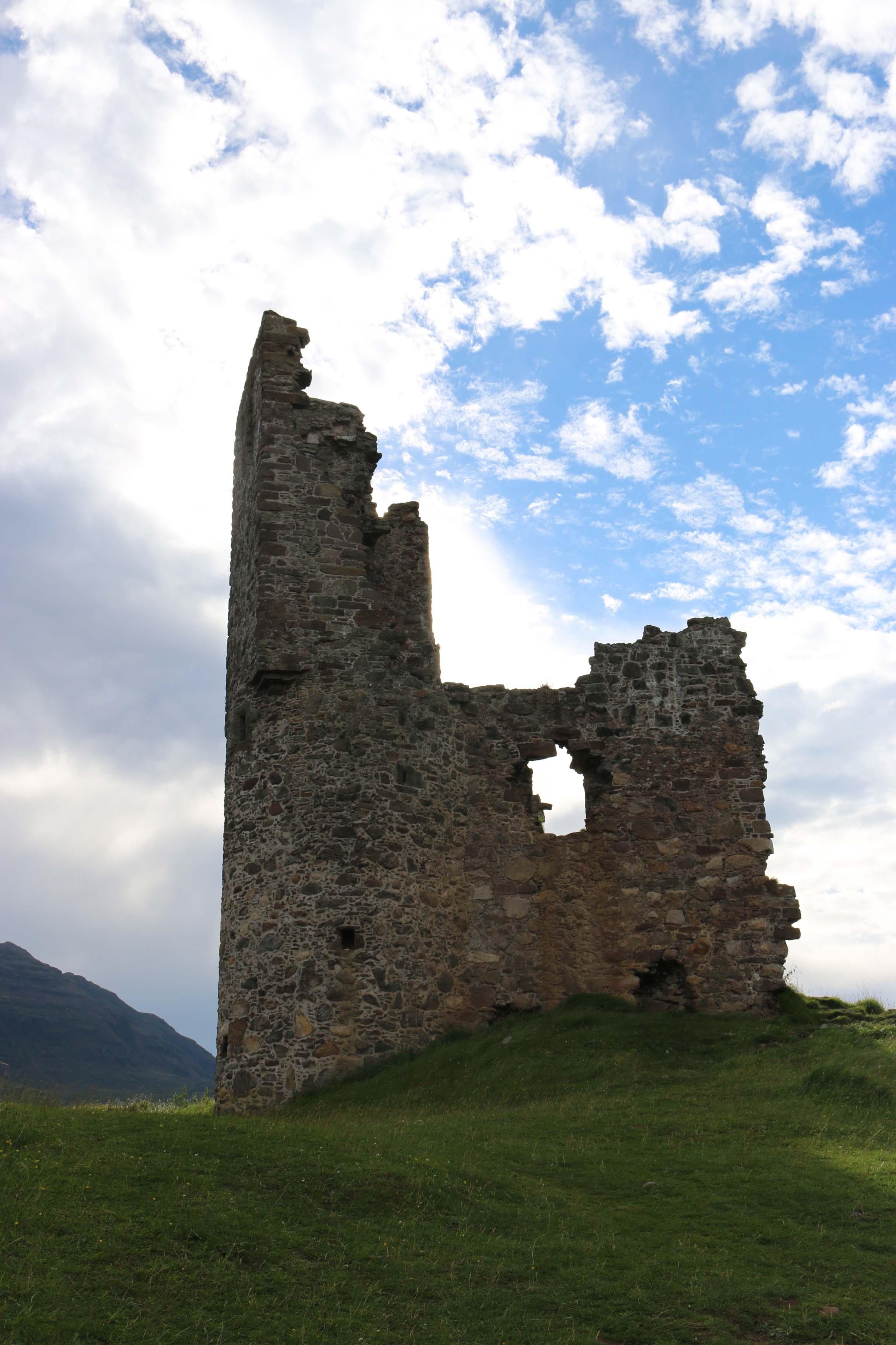 chateau d'adverck - road trip en ecosse