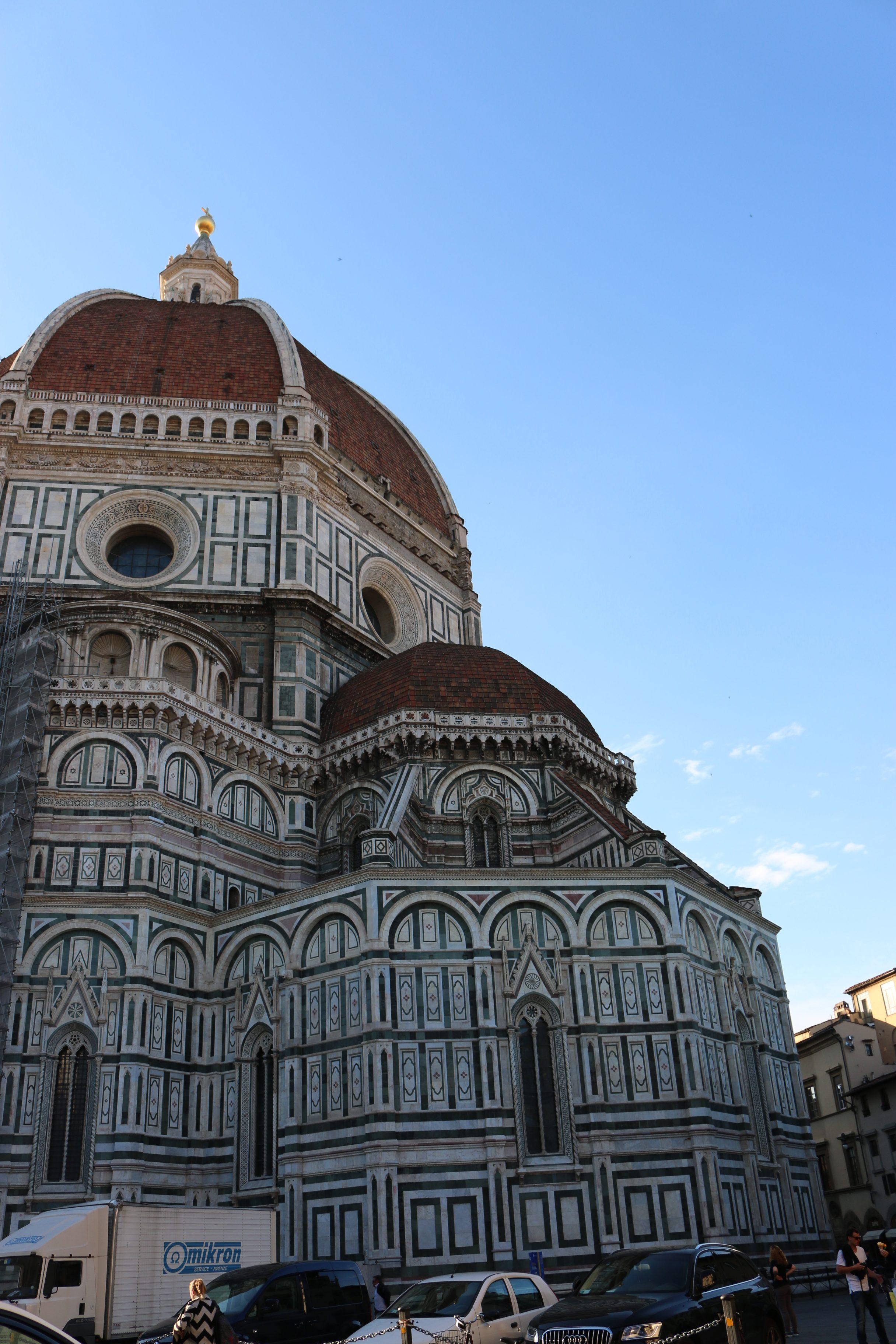 voyage à Florence : piazza del duomo