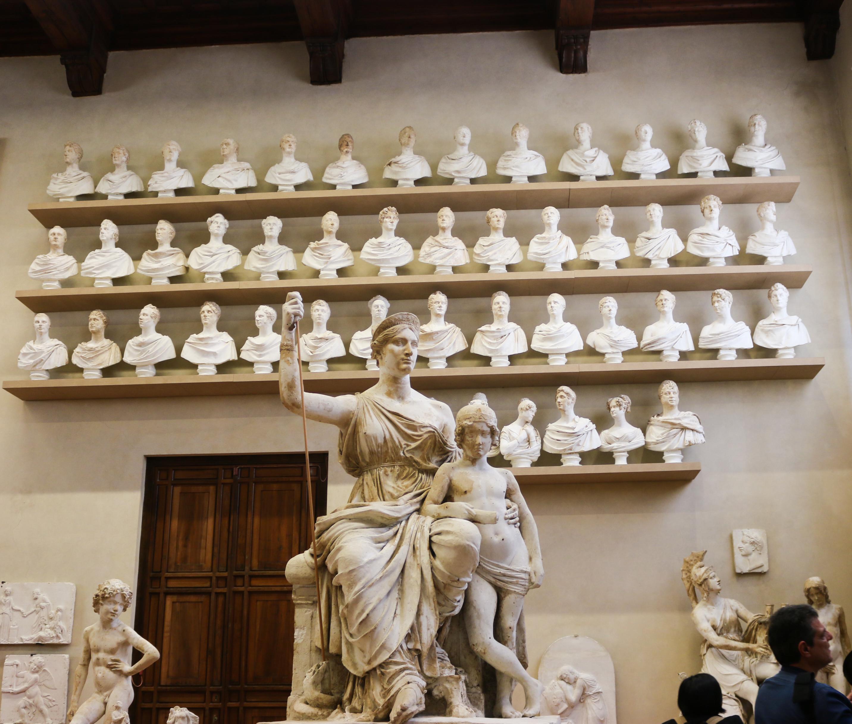 voyage à Florence : Galerie de l'Académie