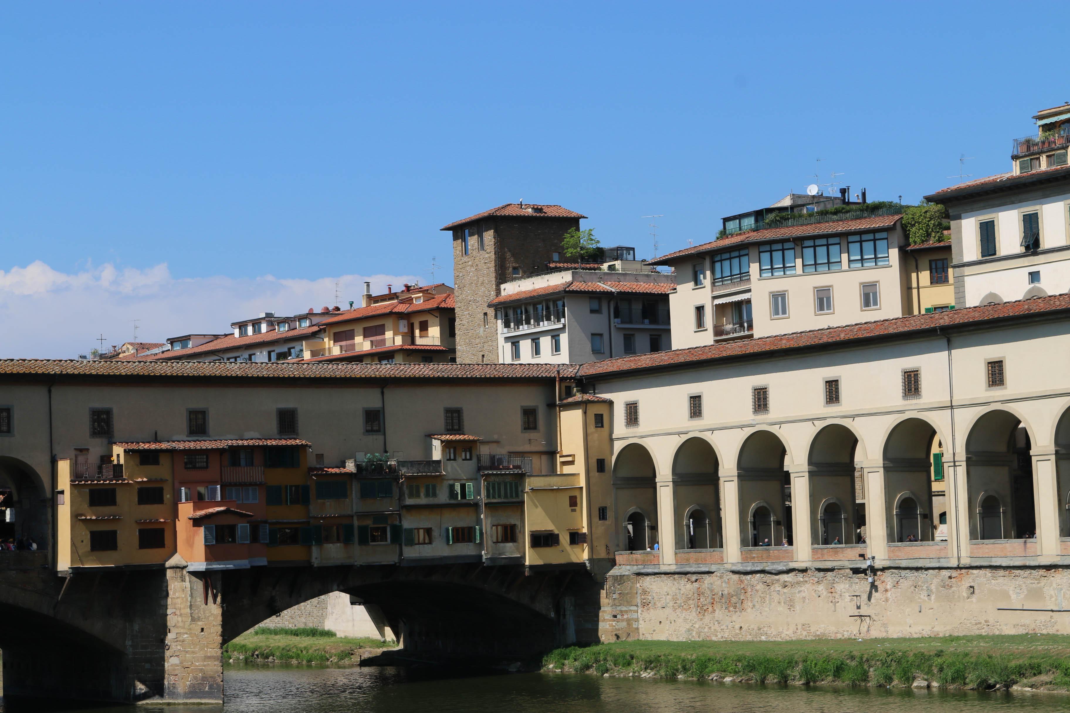 voyage à Florence : ponte vecchio