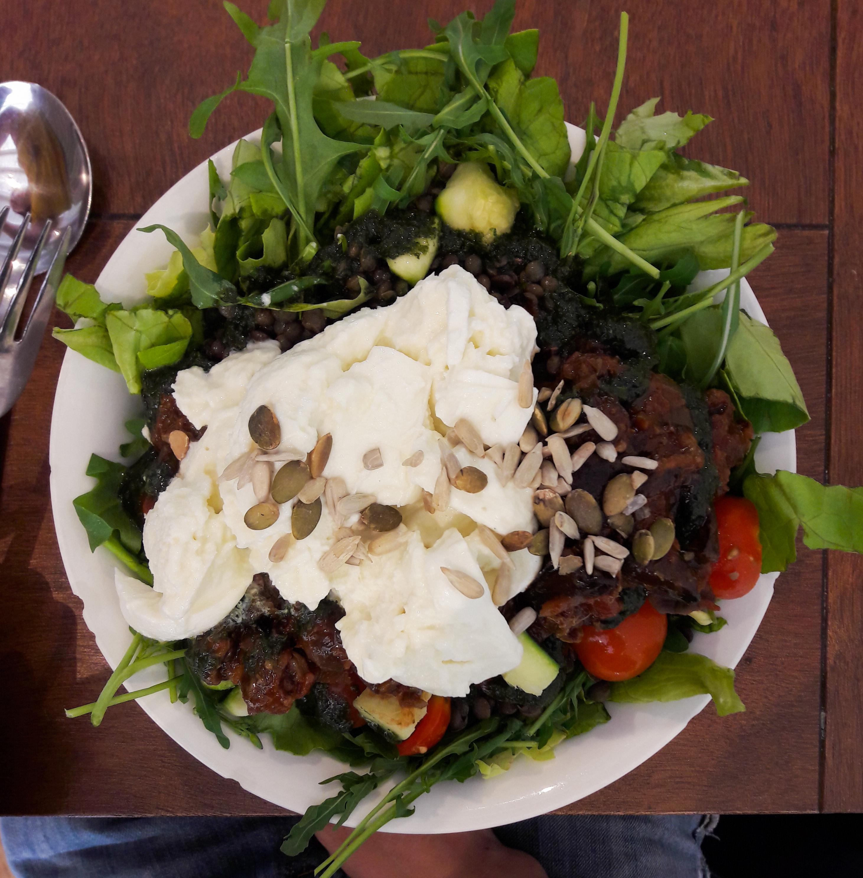 manger végane à amsterdam :SLA
