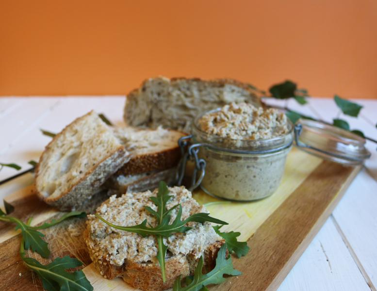 recette de rillettes vegan de protéines de soja texturées