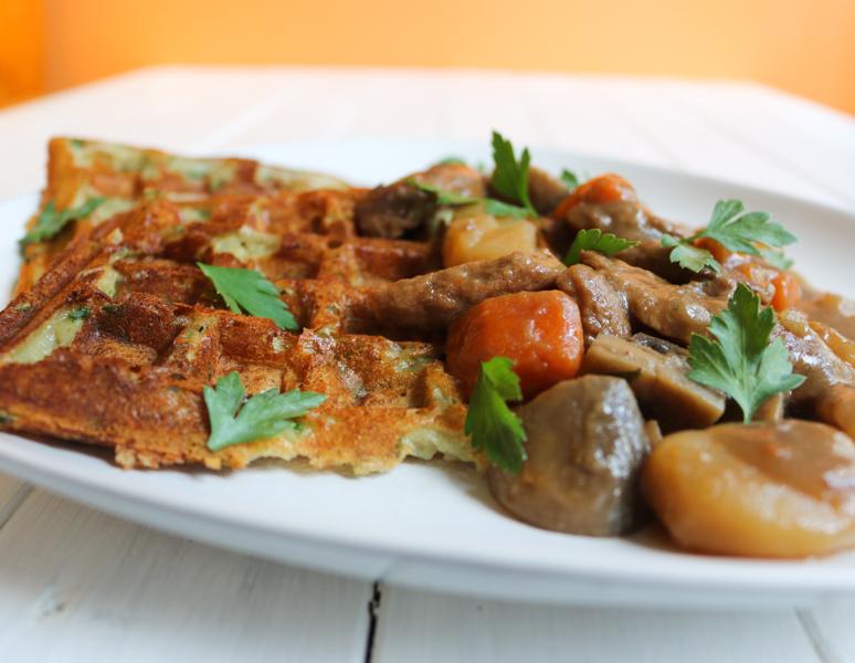 recette irish stew vegan ragout bière et gaufre de pommes de terre