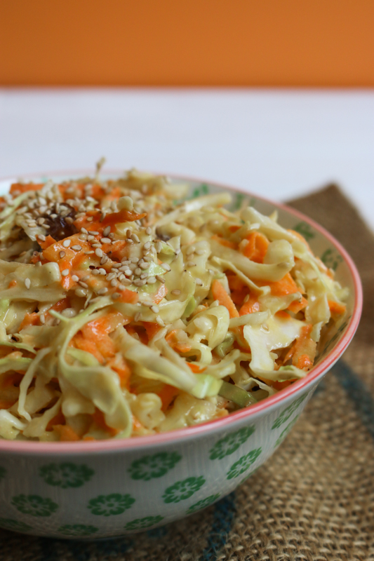 recette coleslaw mayonnaise vegan