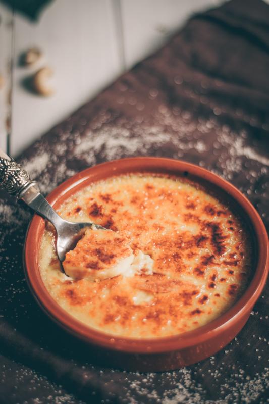 recette de crème brûlée végane