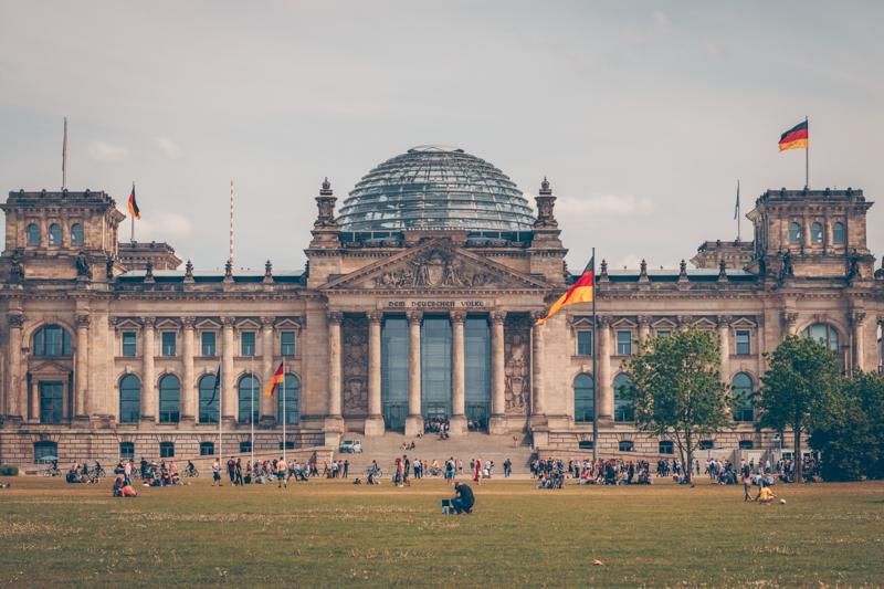 visiter berlin en quelques jours : reichstag