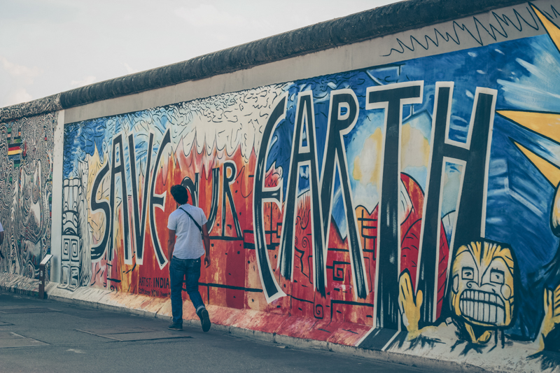 visiter berlin east side gallery