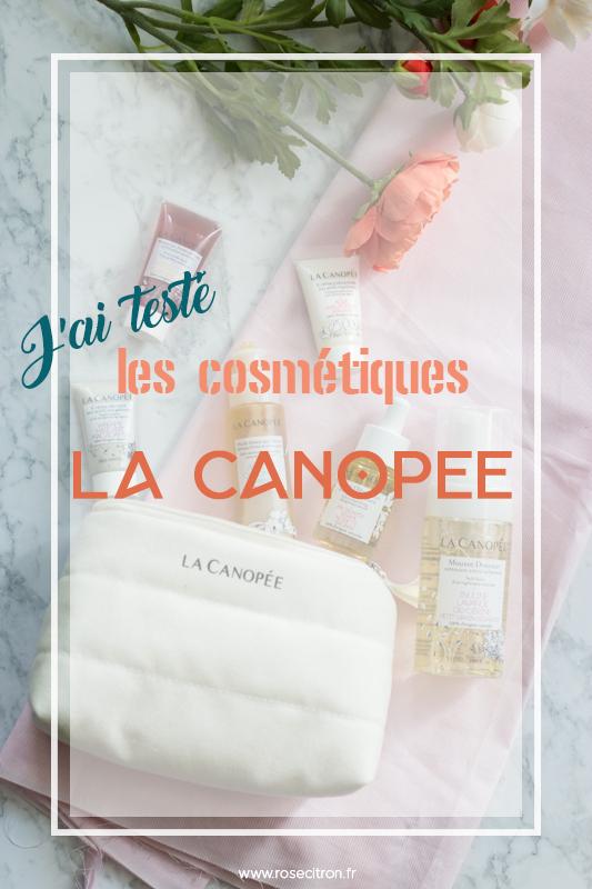 avis sur les cosmétique la canopée