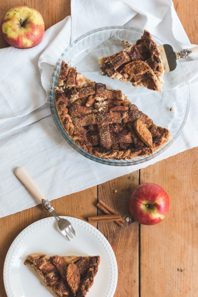 recette apple pie vegan
