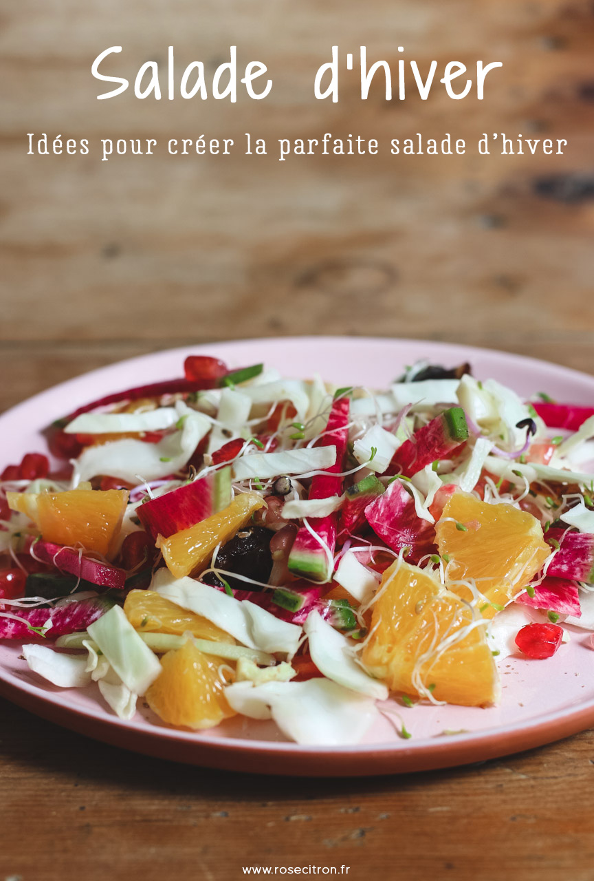 idées salade d'hiver