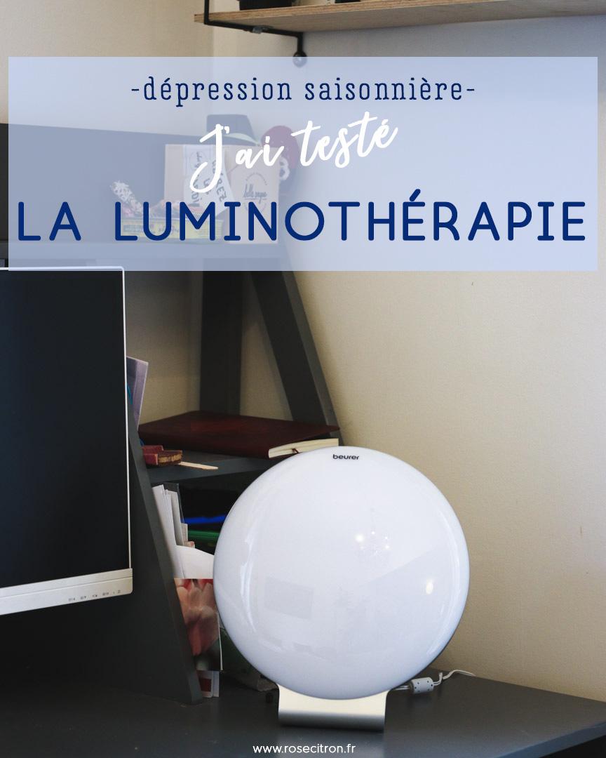 test lampe luminotherapie beurer