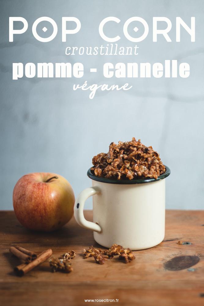 recette pop corn croustillant vegan pomme cannelle-3