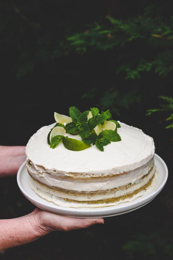 recette layer cake mojito vegan