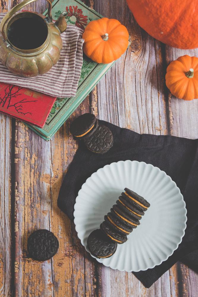 recette oreo vegan citrouille halloween