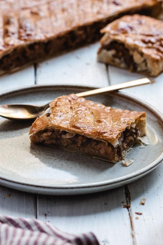 recette galette des rois praliné citron philippe conticini vegan