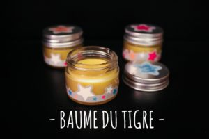 Le vendredi c'est beauty #5 : DIY baume du tigre {vegan}