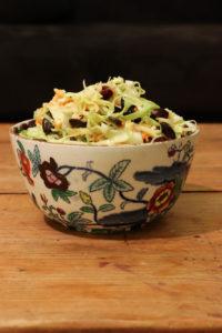 Salade de chou pointu {vegan}