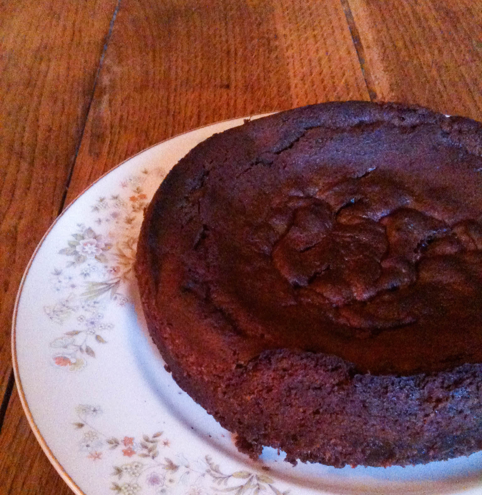 Gateau chocolat creme de marron vegan