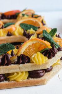 number cake vegane chocolat orange-10