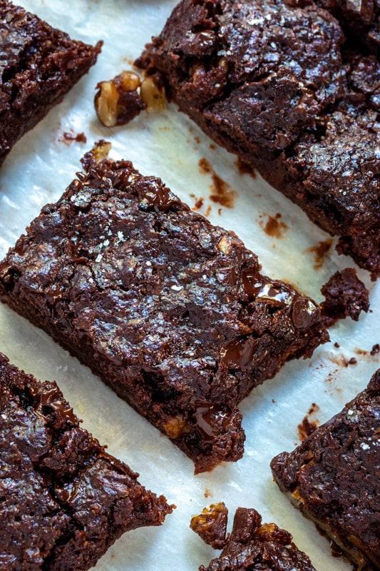 brownie vegan au levain