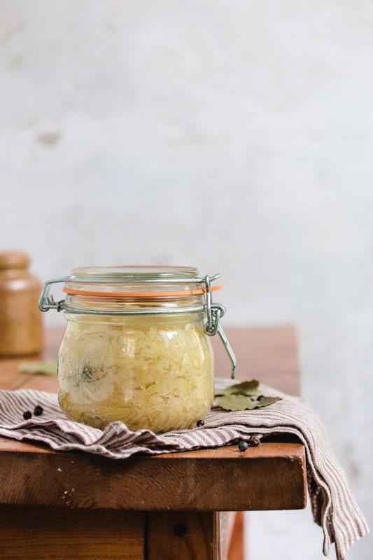 recette chou blanc lactofermenté