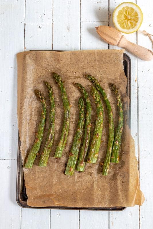 recette asperges vertes vegan