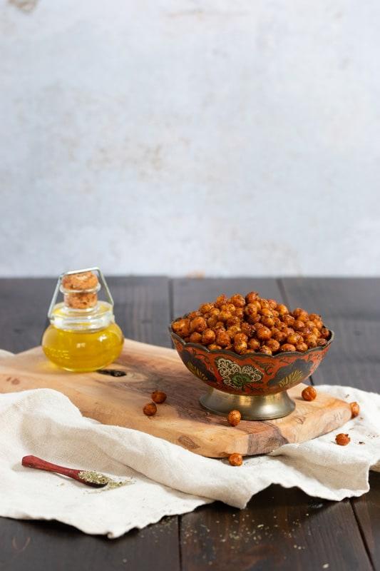 recette vegan pois chiches apéritifs