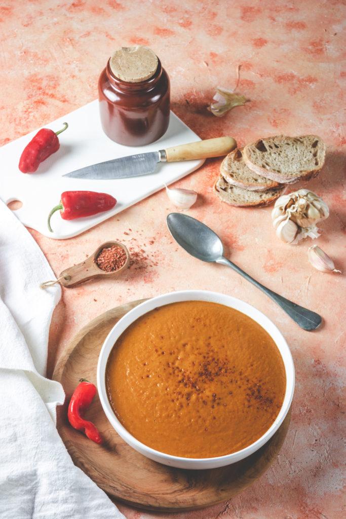 recette soupe légumes d'été