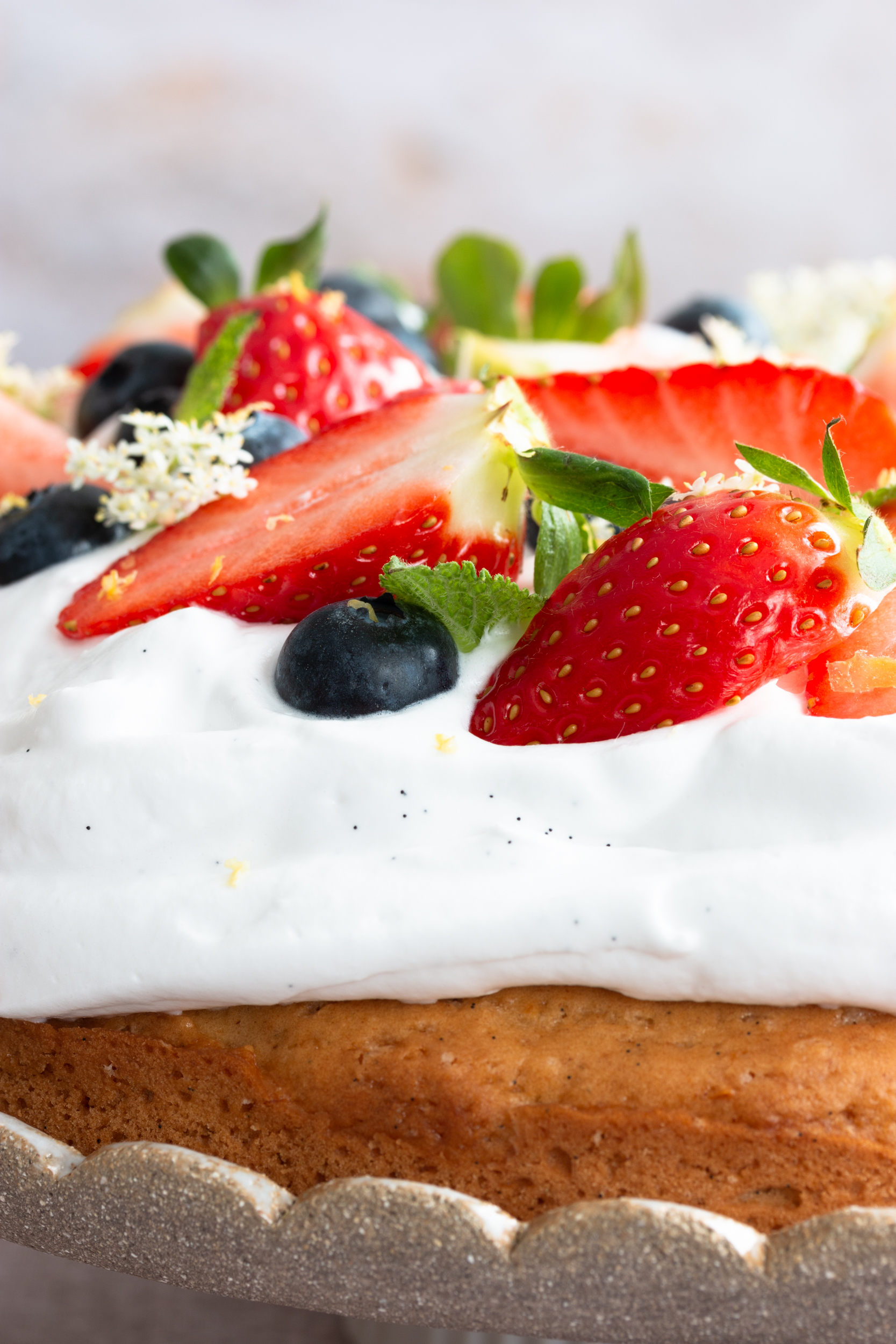 recette de gâteau au citron vegan