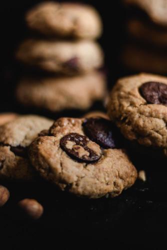 recette cookies praliné vegan