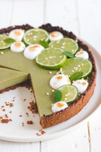 key lime pie vegan meringue italienne-7