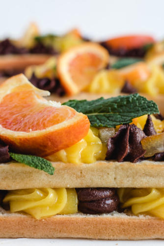 number cake vegane chocolat orange-3