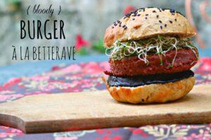 Bloody Burgers { burgers à la betterave }
