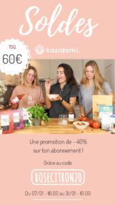 J'ai testé Kazidomi : l'abonnement pour payer moins cher ses courses bio et véganes