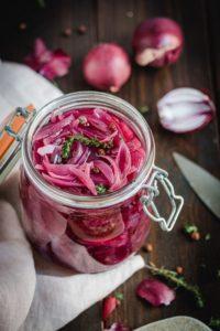 recette pickles oignons rouges fait maison